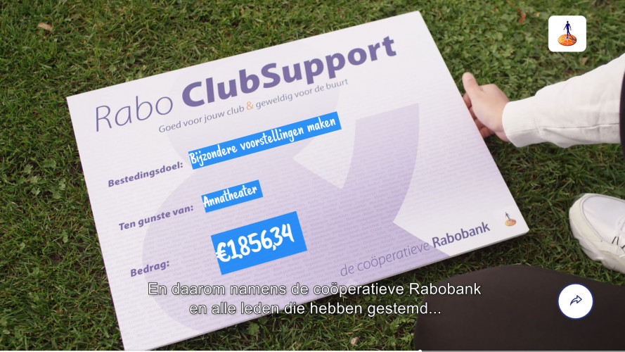 Rabobank ClubSupport Campagne 2020